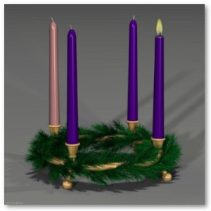 first_week_of_advent_wreath