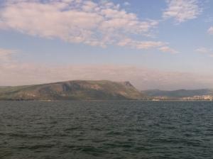 Across the Sea of Galilee