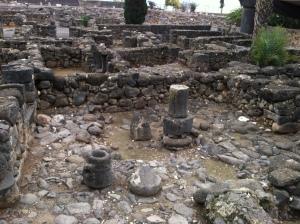 Capernaumcourtyard