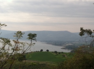 Galilee from Tabgha