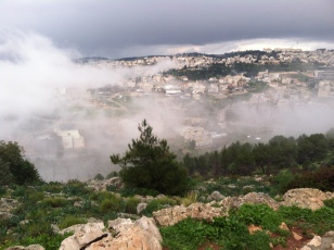2015-01-09 clouds over Nazareth