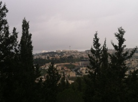 modern nazareth from mt precipice