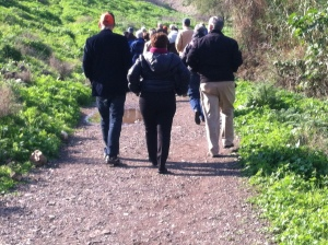 walking behind the bishop2015-01-10 10.15.09